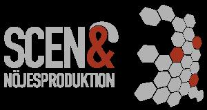 Scen och Nöjesproduktion Logotyp
